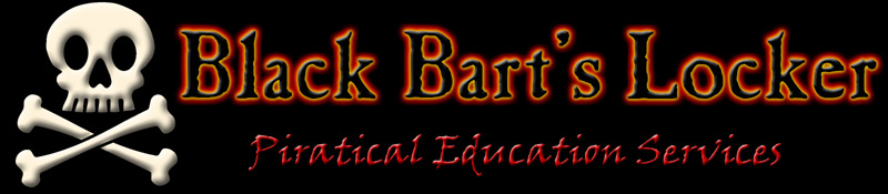Black Bart's Locker. Piratical Education Services