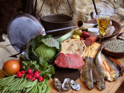 viking food