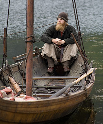 how to build a viking boat