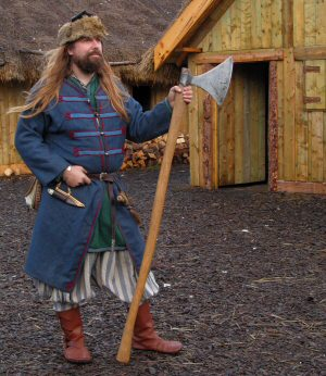 The Vikings travelled to the East and and were known as Rus by the Slavic peoples