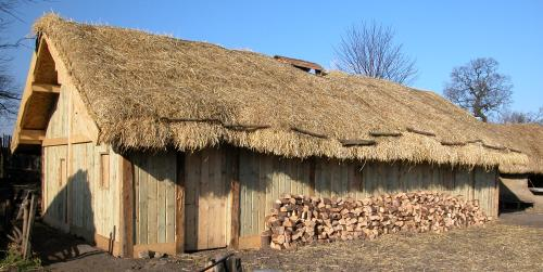 New Longhouse At Danelaw